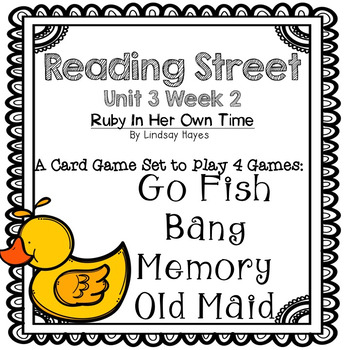 Reading Street: Ruby in Her Own Time 4-in-1 Spelling and H