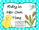 Reading Street Ruby in Her Own Time Unit 3 Week 2 Differen