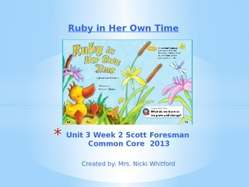 "Reading Street ""Ruby in Her Own Time"" Weekly PowerPoint"