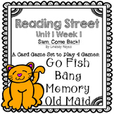 Reading Street: Sam, Come Back!   4-in-1 Spelling and HFW Games