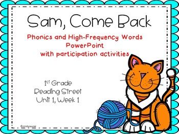 1st Grade Interactive PowerPoint, Sam, Come Back!