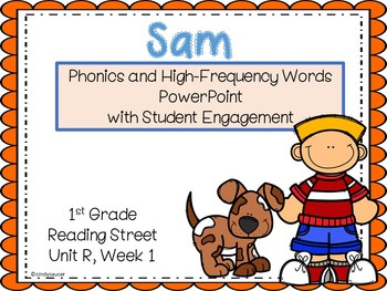 Interactive Powerpoint for Sam, Reading Street Unit R