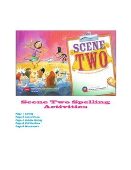 Reading Street Scene Two Spelling