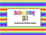 Reading Street Scott Foresman Units 1-5 Grade 1 Rainbow Writing
