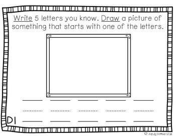 Reading Street Scott Foresman Writing Journal- Unit 1 Week 1- Little School Bus