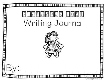 Reading Street Scott Foresman Writing Journal- Unit 1 Week 3- Plaidypus Lost