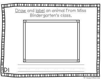 Reading Street Scott Foresman Writing Journal- Unit 1 Week 4- Miss Bindergarten