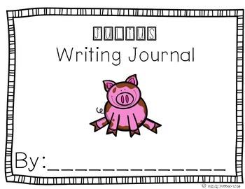 Reading Street Scott Foresman Writing Journal- Unit 1 Week