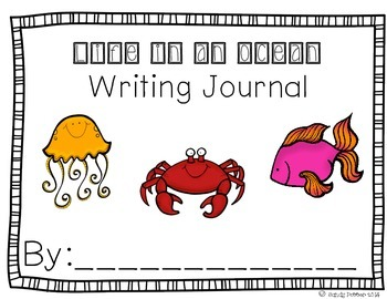 Reading Street Scott Foresman Writing Journal- Unit 2 Week 1- Life in an Ocean