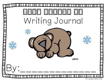 Reading Street Scott Foresman Writing Journal- Unit 2 Week 4- Bear Snores On