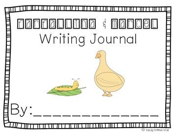 Reading Street Scott Foresman Writing Journal- Unit 3 W 4- Farfallina & Marcel