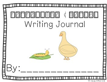 Reading Street Scott Foresman Writing Journal- Unit 3 W 4-