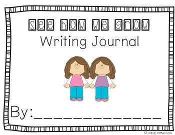 Reading Street Scott Foresman Writing Journal- Unit 3 Week 3- See How We Grow