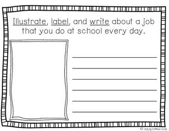 Reading Street Scott Foresman Writing Journal- Unit 4 Week 1- Bunny Day