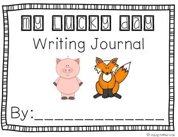 Reading Street Scott Foresman Writing Journal- Unit 4 Week 2- My Lucky Day