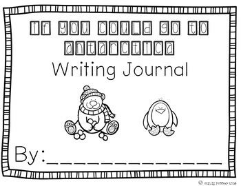 Reading Street Scott Foresman Writing Journal- Unit 4 Week