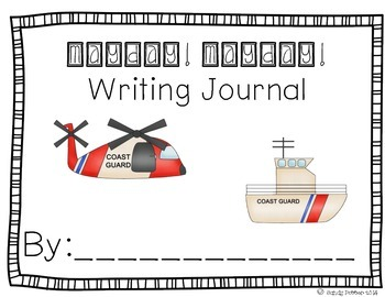 Reading Street Scott Foresman Writing Journal- Unit 5 Week 2- Mayday! Mayday!