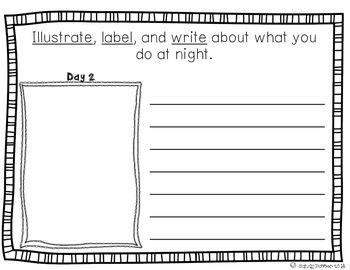 Reading Street Scott Foresman Writing Journal- Unit 6 Week 4- The Night Worker