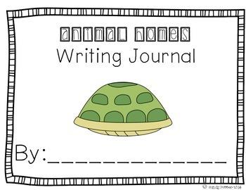 Reading Street Scott Foresman Writing Journal- Unit 6 Week 6- Animal Homes