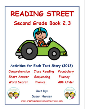 Reading Street Second Grade Activities (2013) Book 2.3