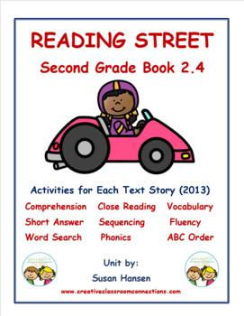 Reading Street Second Grade Activities (2013) Book 2.4