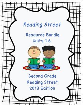 Reading Street Second Grade Bundle: Units 1-6