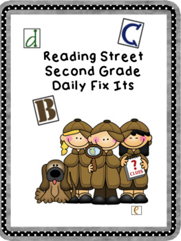 Reading Street Second Grade Daily Fix Its Smartboard