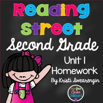 Reading Street Second Grade Homework Unit 1