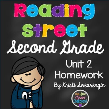 Reading Street Second Grade Homework Unit 2