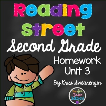 Reading Street Second Grade Homework Unit 3