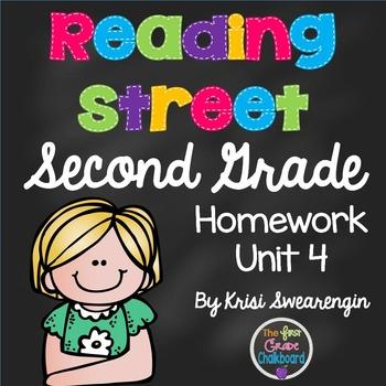 Reading Street Second Grade Homework Unit 4