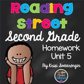 Reading Street Second Grade Homework Unit 5