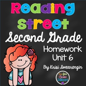 Reading Street Second Grade Homework Unit 6