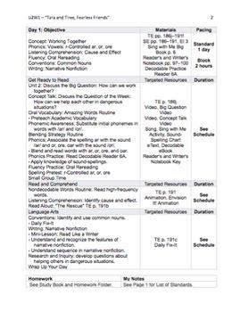 Reading Street - Second Grade Lesson Plans - ALL UNITS Bundle