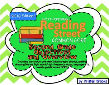 Reading Street Second Grade Objectives and Overview (Scope and Sequence)