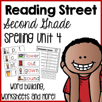 Reading Street Second Grade- Unit 4 Spelling Centers and W