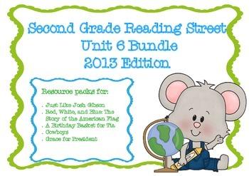 Reading Street Second Grade Unit 6 Resource Bundle