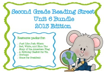 Reading Street Second Grade Unit 6 Resource Bundle