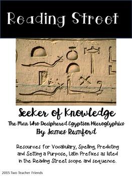Reading Street Seeker of Knowledge