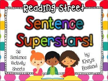 Reading Street {Sentence Superstars!} {Weekly Practice} {R