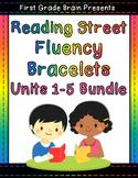 Reading Street Sight Word Fluency Bracelets Bundle Units 1