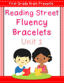 Reading Street Sight Word Fluency Bracelets Unit 1 (non Co