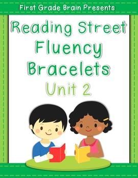 Reading Street Sight Word Fluency Bracelets Unit 2 (non Common Core version)