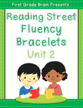 Reading Street Sight Word Fluency Bracelets Unit 2 (non Common Core version)