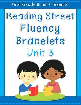 Reading Street Sight Word Fluency Bracelets Unit 3 (non Common Core version)
