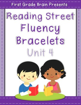 Reading Street Sight Word Fluency Bracelets Unit 4 (non Common Core version)