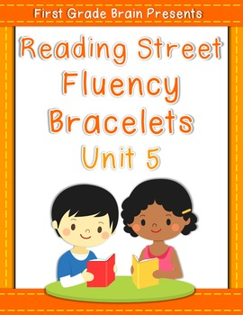 Reading Street Sight Word Fluency Bracelets Unit 5 (non Common Core version)