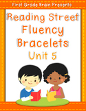 Reading Street Sight Word Fluency Bracelets Unit 5 (non Co