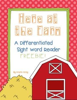 Reading Street Sight Word Reader Freebie!