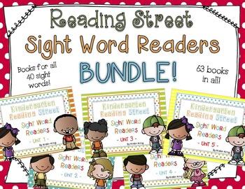 Reading Street Sight Word Readers BUNDLE!